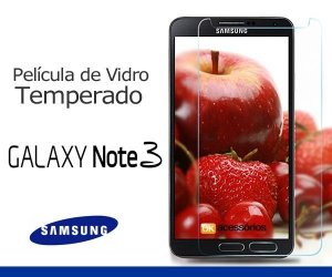 Película de Vidro para Samsung Galaxy Note 3.