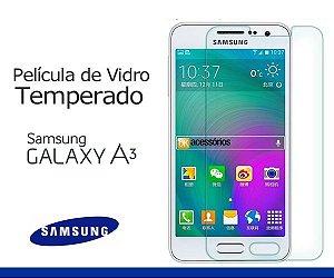 Película de Vidro para Galaxy A3 Duos.