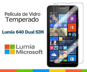 Película de Vidro para Microsoft Lumia 640