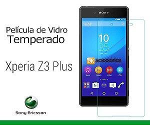 Película de Vidro para Xperia Z3 Plus.