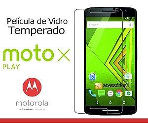Película de Vidro para Moto X Play.