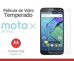 Película de Vidro para Moto X Style.