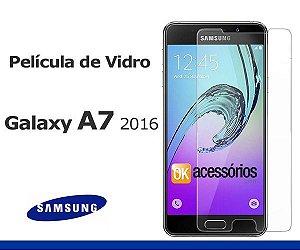 Película de Vidro  para Galaxy A7 2016.