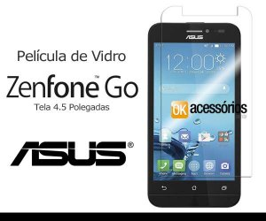 Película de Vidro para Asus Zenfone Go (Tela 4.5 Polegadas).