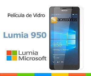 Película de Vidro para Microsoft Lumia 950