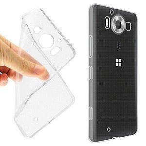 Capa de Silicone Transparente para Lumia 950