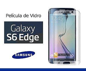 Película de Vidro para Galaxy S6 Edge. Cobre toda lente.