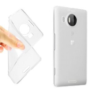 Capa de Silicone Transparente para Lumia 950 XL