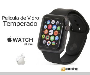 Película de Vidro para Apple Watch - 42 mm