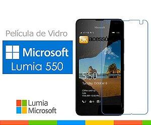 Película de Vidro para Microsoft Lumia 550