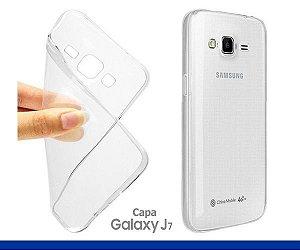 Capa de Silicone Transparente para Galaxy J7