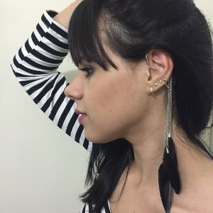 Brinco New Collection - Ear cuff - FVPE997LT