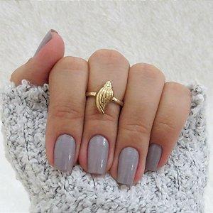 Anel de falange, caramujo, dourado - REF: F010