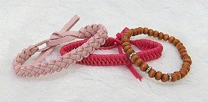 Conjunto de pulseiras aloha, 3 peças, IV