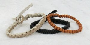 Conjunto de pulseiras aloha, 3 peças, VI