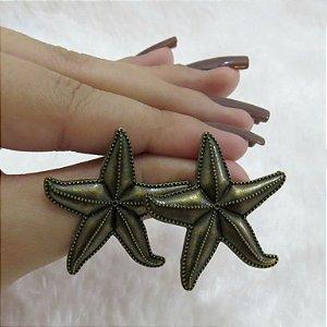 Brinco estrela do mar, bronze - REF B011
