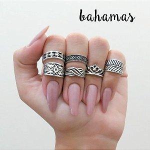 PACK 40 - 12 anéis de falange - Nº 13, 14 e 15 - R$ 2,40 cada