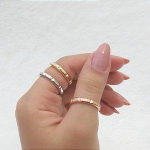 Conjunto de anéis com 3 peças, estações