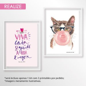 Kit printables realize - 10x15cm