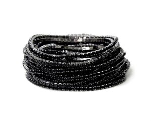 Conjunto de pulseiras star, 5 peças, black#