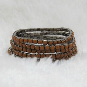 Conjunto de pulseiras star, 5 peças, terra - REF P172