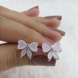 Brinco new collection, laço rosa - 9ZQXND2FD