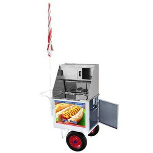 Carrinho Hot Dog Standard com rodas pneumáticas