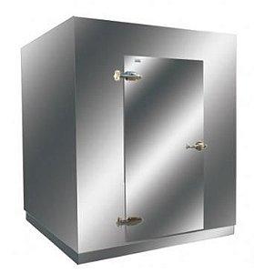 Mini Câmara Frigorífica 1000kg para Congelados Inox 3.060 Litros - Klima