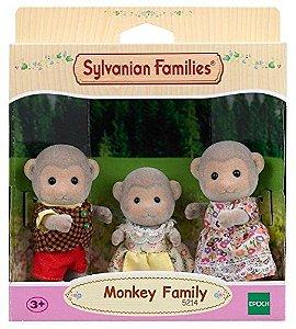 5214 SYLVANIAN FAMILIES FAMÍLIA DOS MACACOS