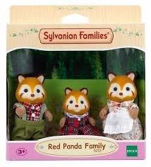 5215 SYLVANIAN FAMILIES FAMÍLIA DOS PANDAS-VERMELHOS
