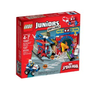 10687 LEGO JUNIORS  Esconderijo Spider-Man