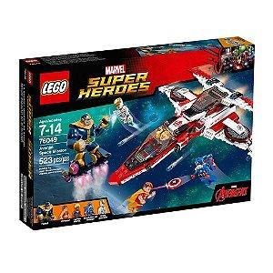 76049 LEGO MARVEL  Missão Espacial de Vingadores