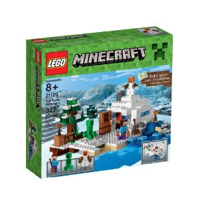 21120 LEGO MINECRAFT  O Esconderijo da Neve