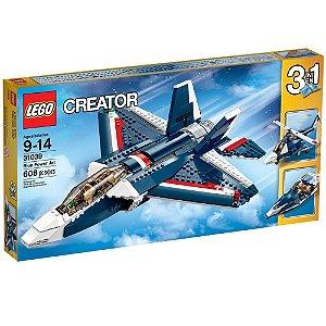 31039 LEGO CREATOR  Avião a Jato Azul