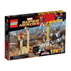 76037 LEGO MARVEL  Rhino e Sandman Juntam Forças