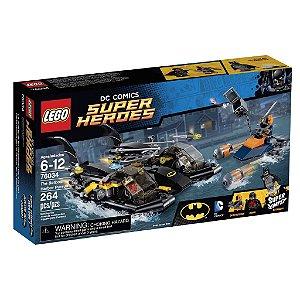 76034 LEGO DC COMICS  A Perseguição de Batbarco no Porto