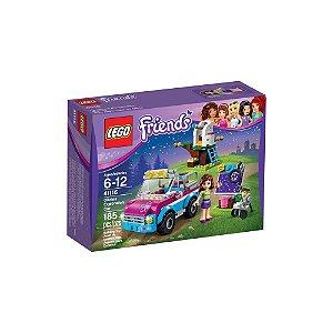 41116 LEGO FRIENDS  O Carro de Exploração da Olivia