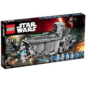 75103 LEGO STAR WARS  Transporter da Primeira Ordem