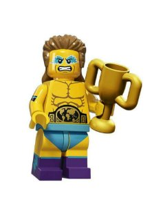 71011 LEGO MINIFIGURES  Série 15 - LUTADOR DE LUTA-LIVRE