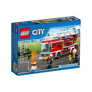 60107 LEGO CITY  Caminhão com Escada de Combate ao Fogo