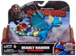 "835 CTOD DRAGÃO FIG ARTICULÁVEIS 14""  DEADLY NADDER"