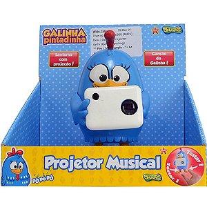 426  PROJETOR MUSICAL GALINHA PINTADINHA