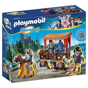 6695 PLAYMOBIL SUPER 4 TRIBUNA REAL