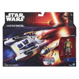 B3675 STARWARS VEÍCULOS  Y-WING SCOUT BOMBER