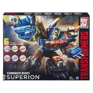 B3774 TRANSFORMERS GENERATIONS  COMBINER WARS - SUPERION