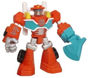 A2126 TRANSFORMERS PLAYSKOOL  MINI RESCUE BOTS HEATWAVE