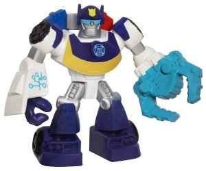 A2126 TRANSFORMERS PLAYSKOOL  MINI RESCUE BOTS CHASE POLICE