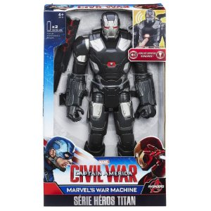 B6179 MARVEL TITAN  FIGURA ELETRONICA - WAR MACHINE