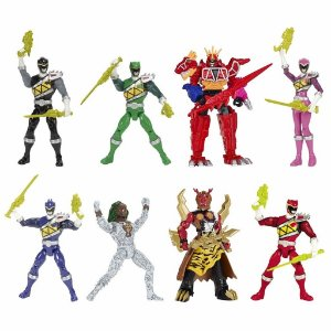 42201X POWER RANGERS DINO CHARGE - COLECÃO COMPLETA