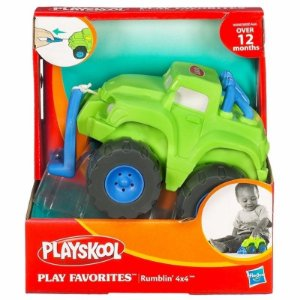 50200 PLAYSKOOL PLAYSKOOL  CARRINHOS QUE VIBRAM - 4X4